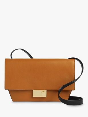 AllSaints Harley Leather Cross Body Bag