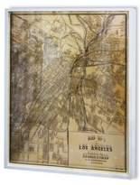 Oliver Gal Framed Hatcher & Ethan Los Angeles 1899 Print