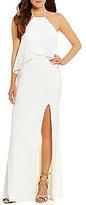 GB Social Popover Halter Gown