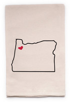"ellembee Home ""Oregon State"" Tea Towel"