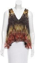 Alexis Abstract Printed Sleeveless Top
