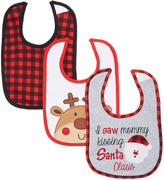Baby Essentials Mommy's Sayings Holiday Bib Set