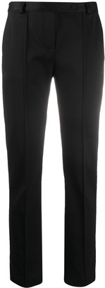 Styland Slim-Fit Organic Cotton Trousers
