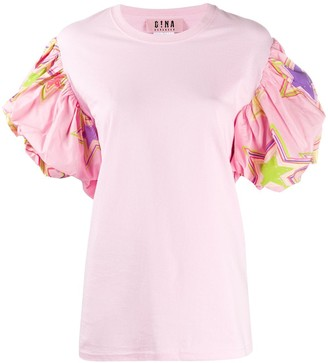 Gina puff sleeve T-shirt