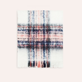 Maje Thick checked scarf