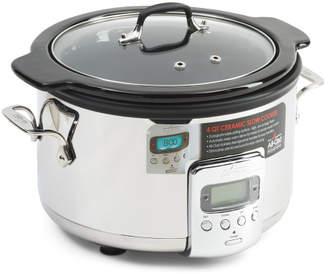 4qt Ceramic Slow Cooker