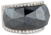 Stephen Webster Hematite and Diamond Ring