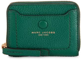 Marc Jacobs Pebbled Leather Zip-Around Card Case