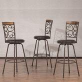 Hillsdale Furniture Woodland Swivel Stool 3-piece Set