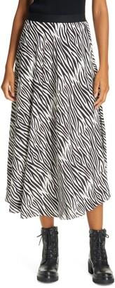 Birgitte Herskind Zebra Print Skirt