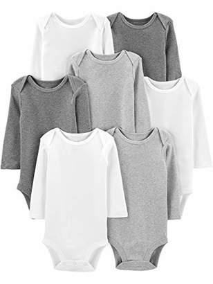 Carter's Simple Joys by Baby 7-Pack Long-Sleeve Bodysuit