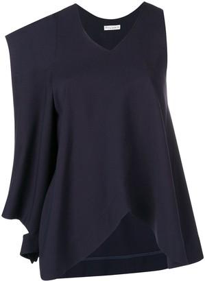 J.W.Anderson asymmetric patch pocket blouse