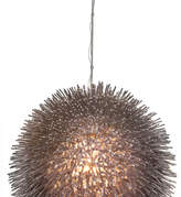 Varaluz Urchin 1-Light Pendant, Painted Chrome, Large