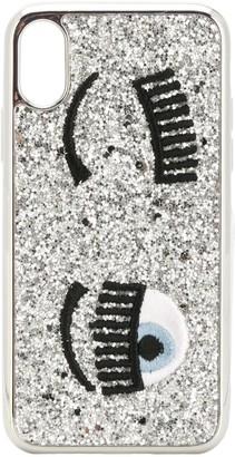 Chiara Ferragni Flirting glitter iPhone X case