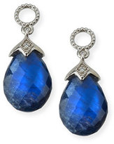 Jude Frances Lisse 18K Sapphire Briolette Earring Charms with Diamonds