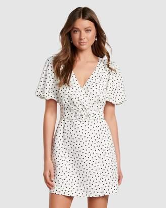 Forever New Maggie Linen Wrap Dress