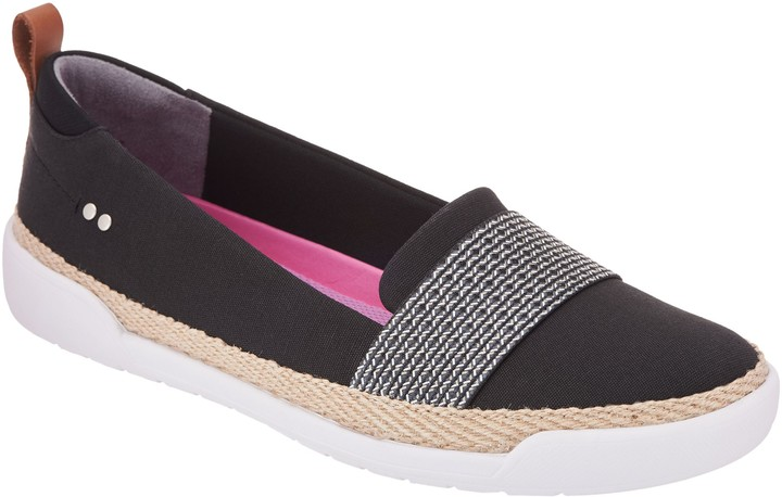 Ryka Canvas Slip-On Shoes - Opal