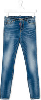 DSQUARED2 skinny fit jeans - kids - Cotton/Spandex/Elastane - 14 yrs