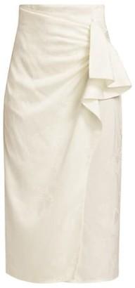 Silvia Tcherassi Evan Draped Pencil Skirt