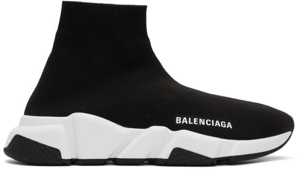 Balenciaga Black Women's Sneakers