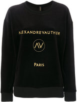 Alexandre Vauthier logo sweatshirt