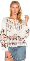 Tanya Taylor Clemence Top in White. - size 0 (also in 2,4,6)