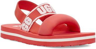 UGG Zuma Logo Slingback Sandal