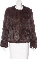Diane von Furstenberg Fur Marchie Coat w/ Tags