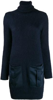 Semi-Couture Semicouture turtleneck sweater dress