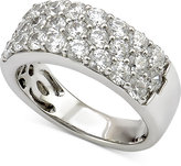 Marchesa Certified Diamond Three-Row Band (2 ct. t.w.) in 18k White Gold