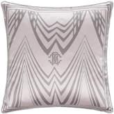 Roberto Cavalli Deco Silk Cushion - Rosa - 40x40cm