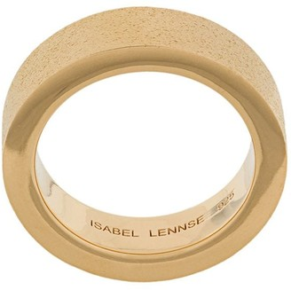 Isabel Lennse Frosted Band Ring