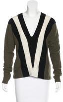 A.L.C. Wool & Alpaca-Blend Chevron Sweater