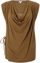 Jigsaw Sleeveless Cowl Neck Top