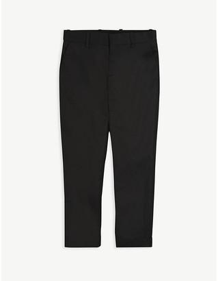 Neil Barrett Lightning bolt print wool suit trousers 8-14 years