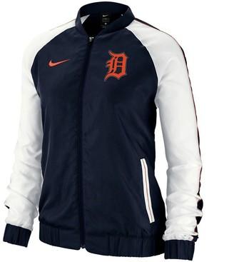 Nike Women's Navy Detroit Tigers Varsity Full-Zip Jacket