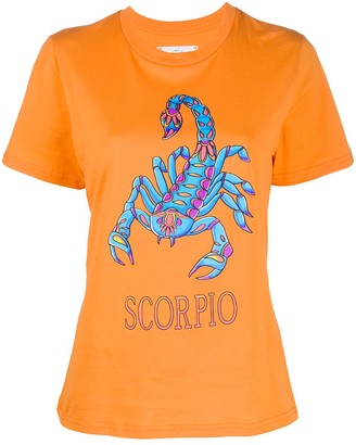 Alberta Ferretti Scorpio print T-shirt