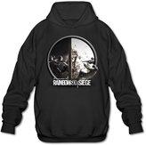 XJBD Men's Tom Clancy's Rainbow Six Siege Hoodie Size L
