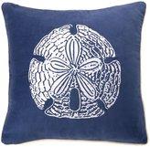 D.L. Rhein Sand Dollar Velvet Pillow