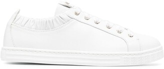 AGL Elasticated Ankle Low-Top Sneakers