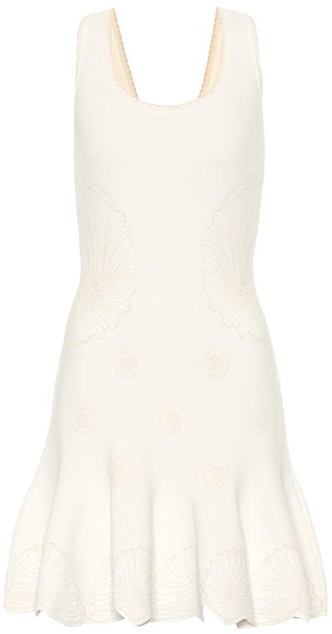 4819610a912 Alexander Mcqueen Knitted Dress - ShopStyle