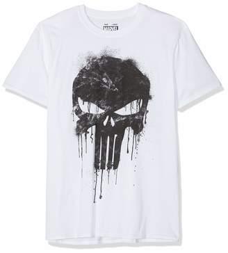 Marvel Men's Avengers Punisher Skull T-Shirt
