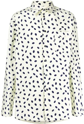 Marni Dotted Print Shirt