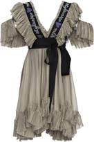 Maria Lucia Hohan Judy Mousseline Mini Dress
