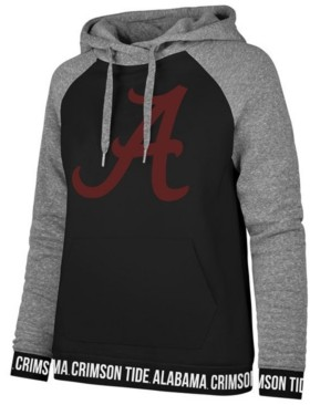 '47 Women's Alabama Crimson Tide Encore Revolve Hooded Sweatshirt