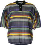 Kolor striped polo shirt