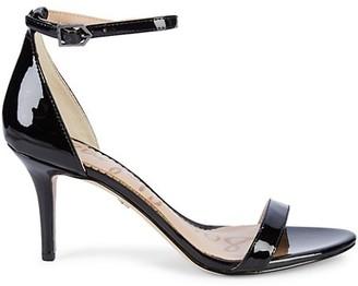 Sam Edelman Patti Patent Ankle-Strap Sandals