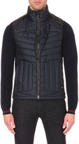HUGO BOSS Quilted shell gilet