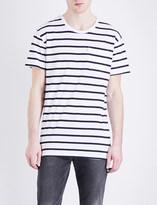 Levi's Line 8 stripe-print cotton-jersey T-shirt