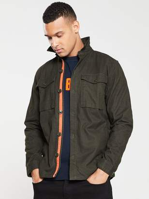 Barbour Thermo Overshirt - Forest Green
